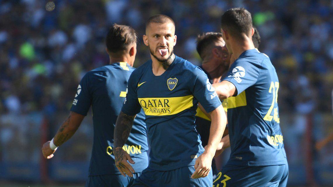 Darío Benedetto celebró como en el estadio Santiago Bernabéu