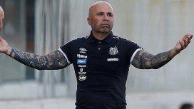 Pobre Sampaoli: Santos se comió cinco goles con un equipo de la C