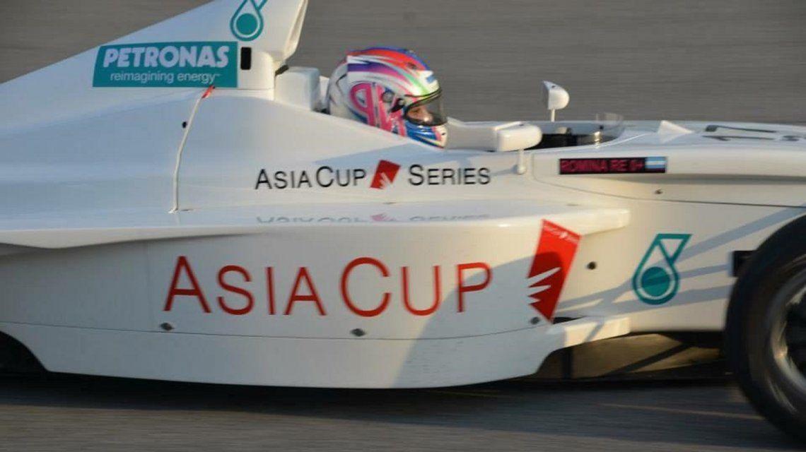 Romina Re compite en las carreras más exigentes del mundo.