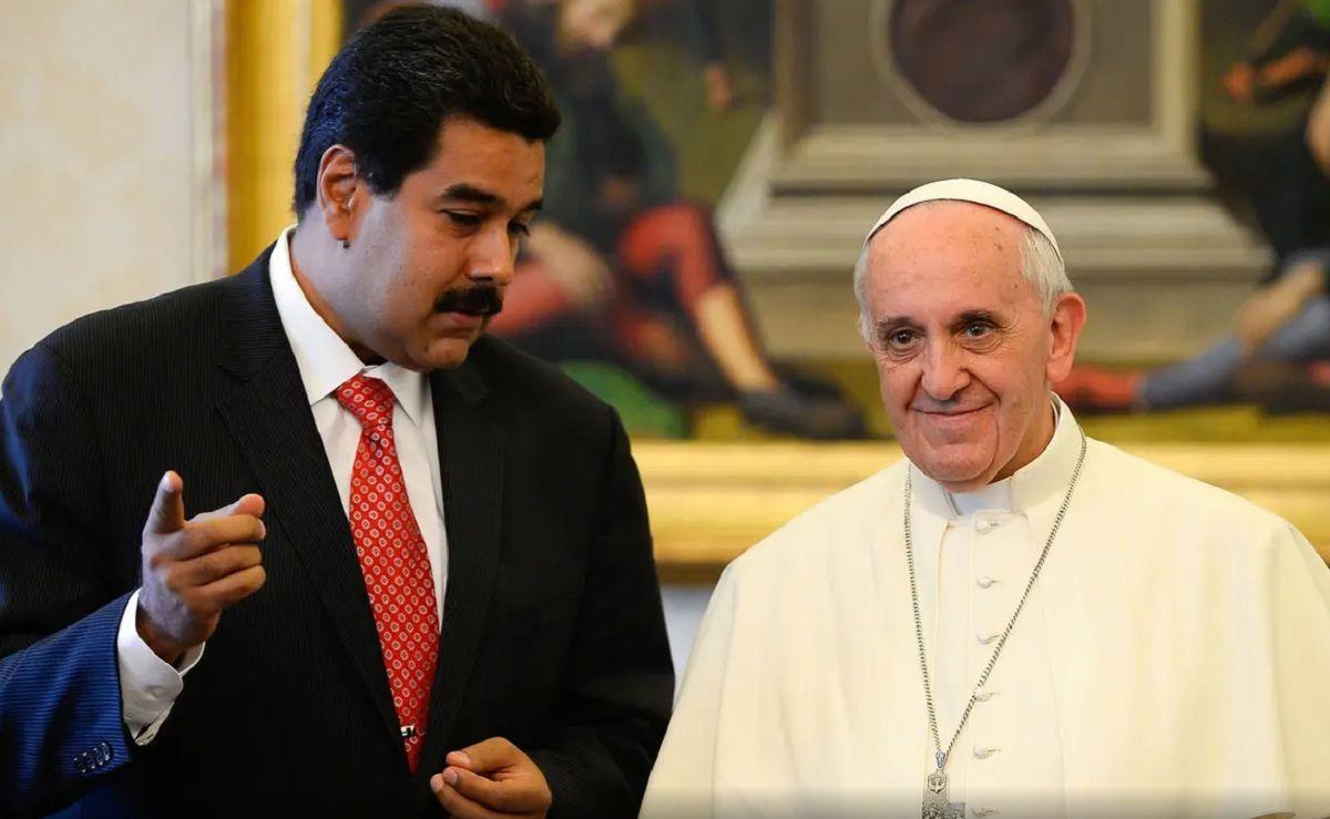Maduro le pidió al Papa que intervenga para facilitar el diálogo en Venezuela