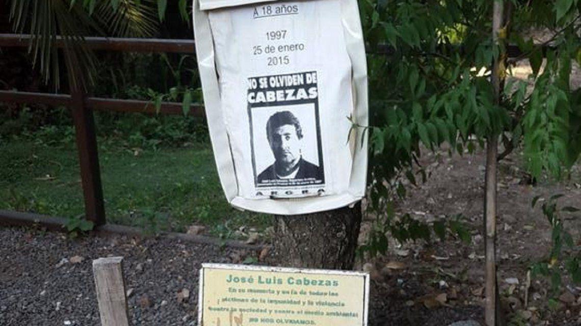 Homenaje a José Luis Cabezas en la Reserva Ecológica