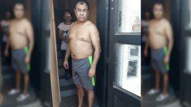 Hector Alejandro Amarilla, prófugo por un caso de gatillo fácil, cayó en La Matanza.