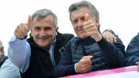 Gerardo Morales y Mauricio Macri