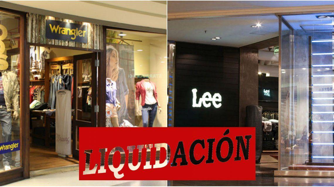 Se van del país las marcas de jean Wrangler y Lee