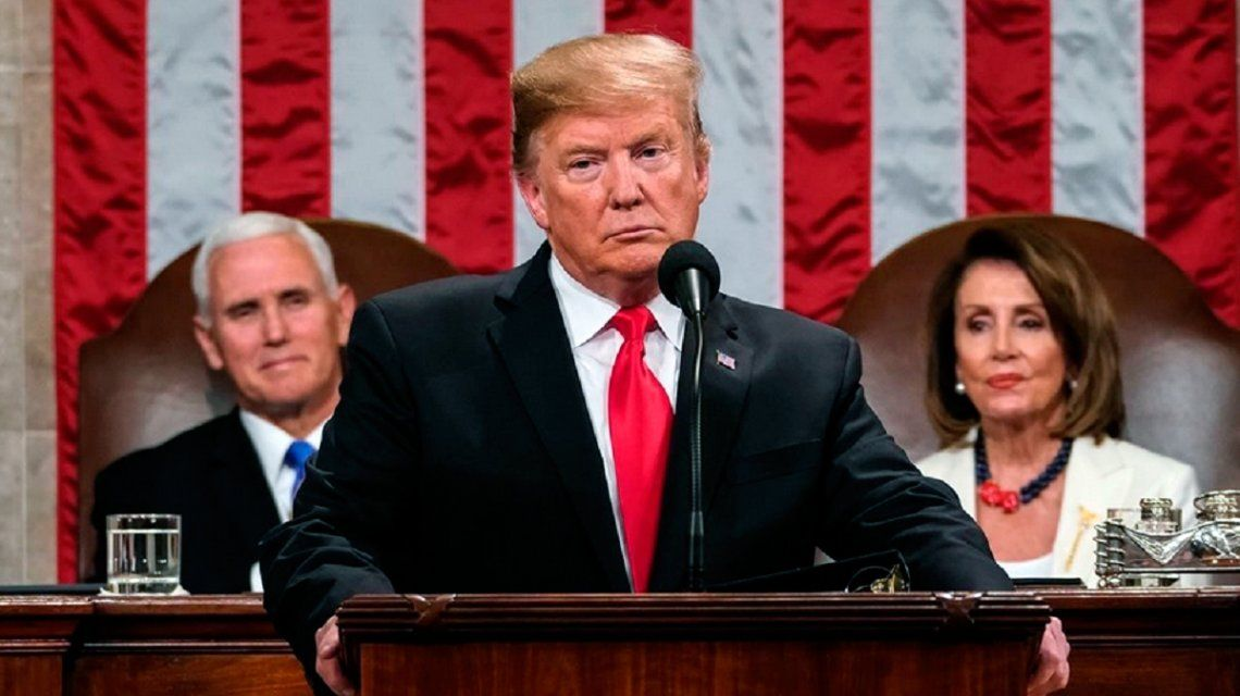 Trump pronunció su discurso anual sobre el Estado de la Unión