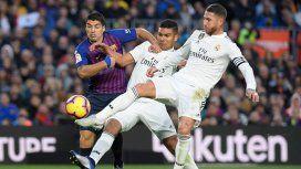 Barcelona vs Real Madrid por la fecha 10 de la Liga española: horario