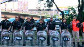 Corte en Puente Pueyrredón por una protesta de trabajadores despedidos
