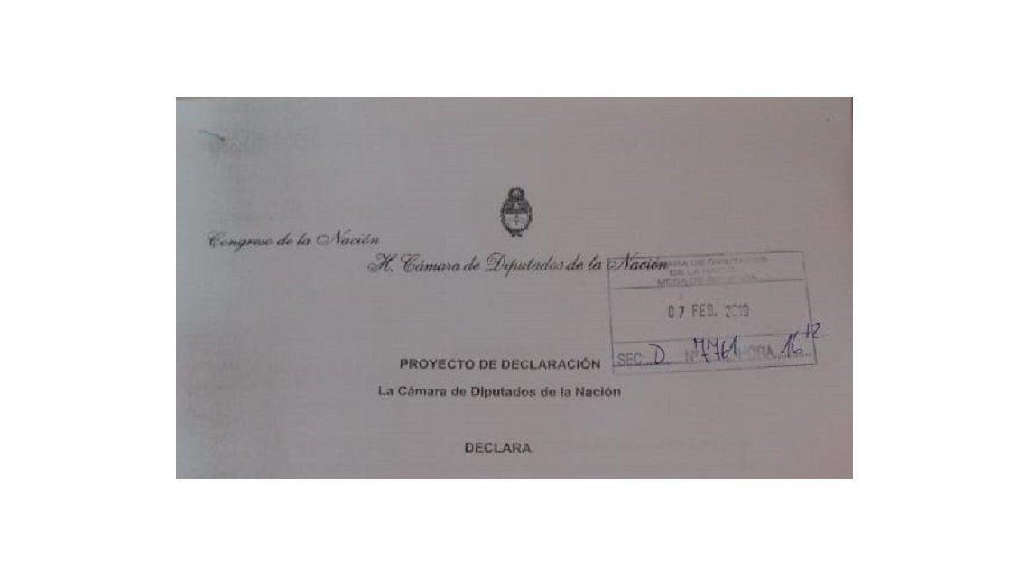 Diputados declararon su repudio a la decición de la Cámara de Apelaciones