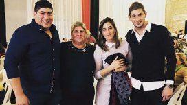Emiliano Sala y su familia - Crédito:emilianosala9