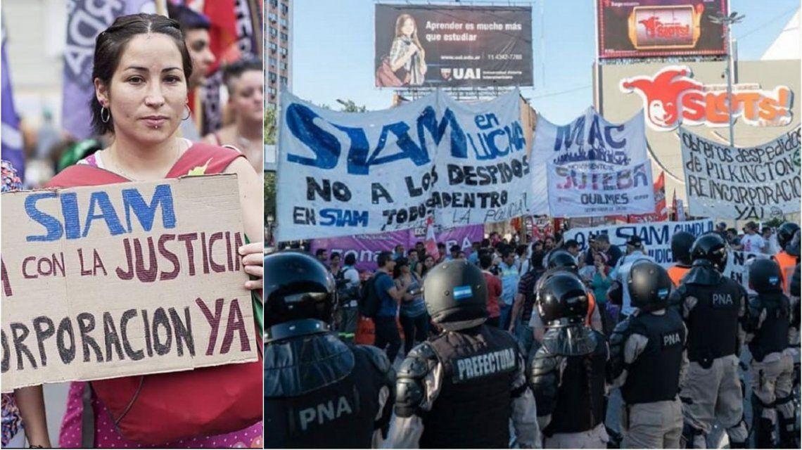 Alejandra lucha contra un ambiente patriarcal y por el trabajo de sus compañeros
