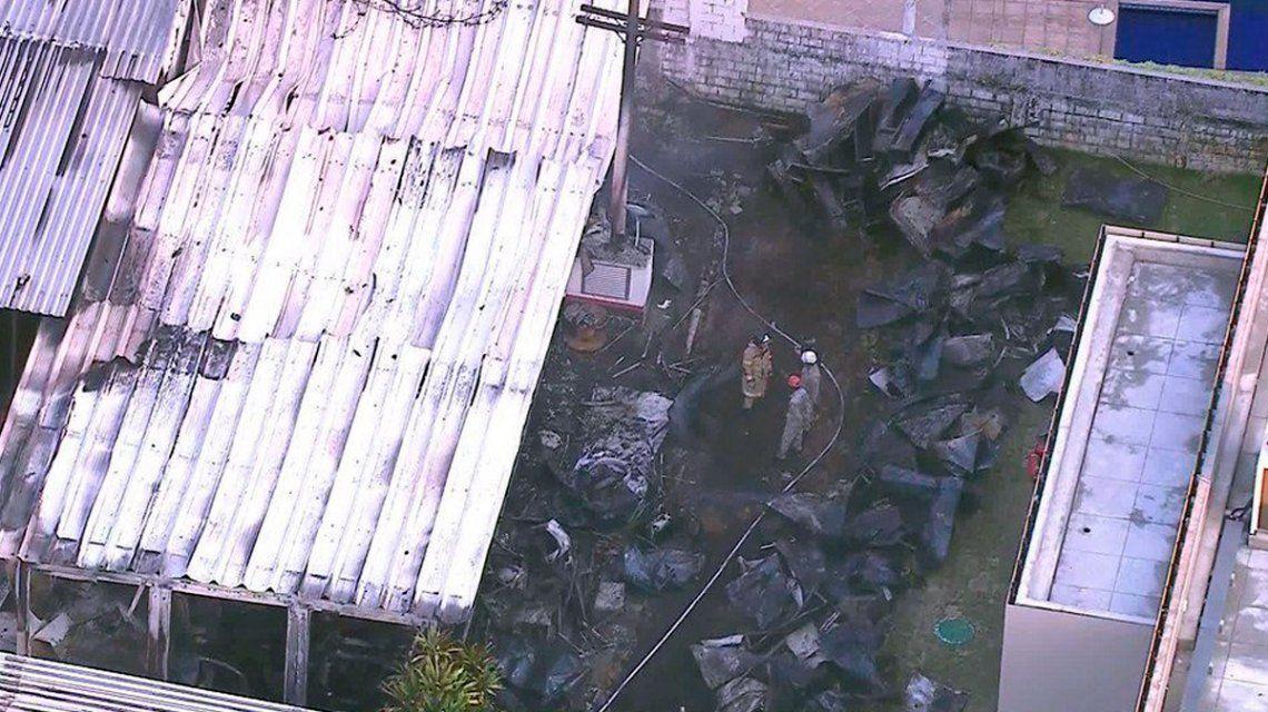 Incendio en un centro de entrenamiento del Flamengo: murieron 10 chicos de las inferiores