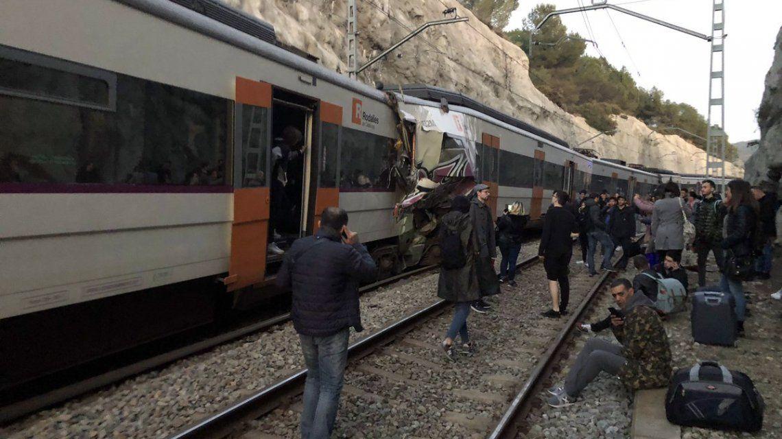 Choque de trenes en España: hay al menos un muerto y 95 heridos