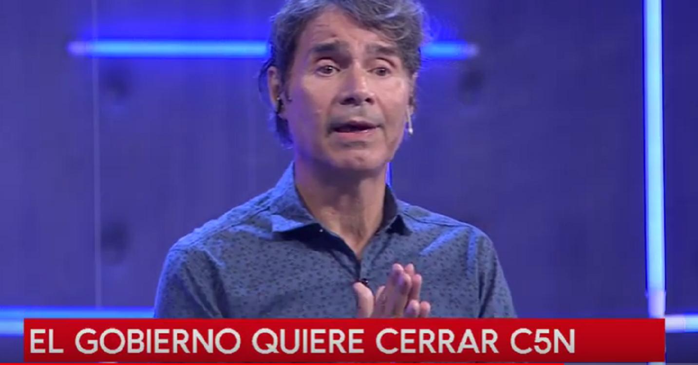Claudio María Domínguez se solidarizó con los trabajadores de C5N y minutouno.com