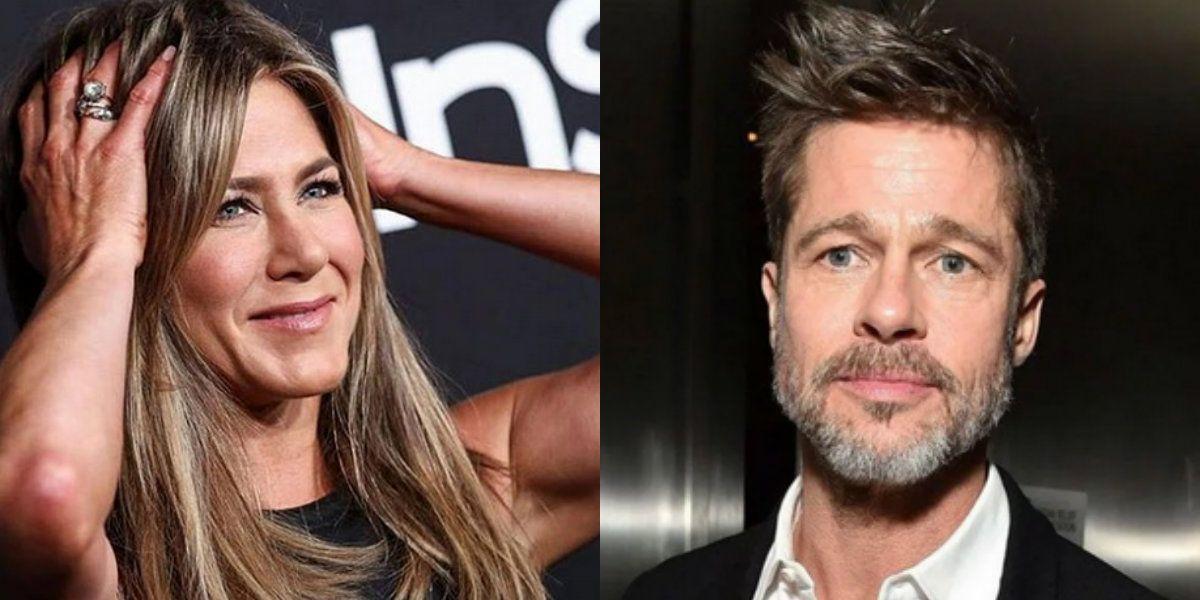Brad Pitt asistió al cumpleaños de Jennifer Aniston