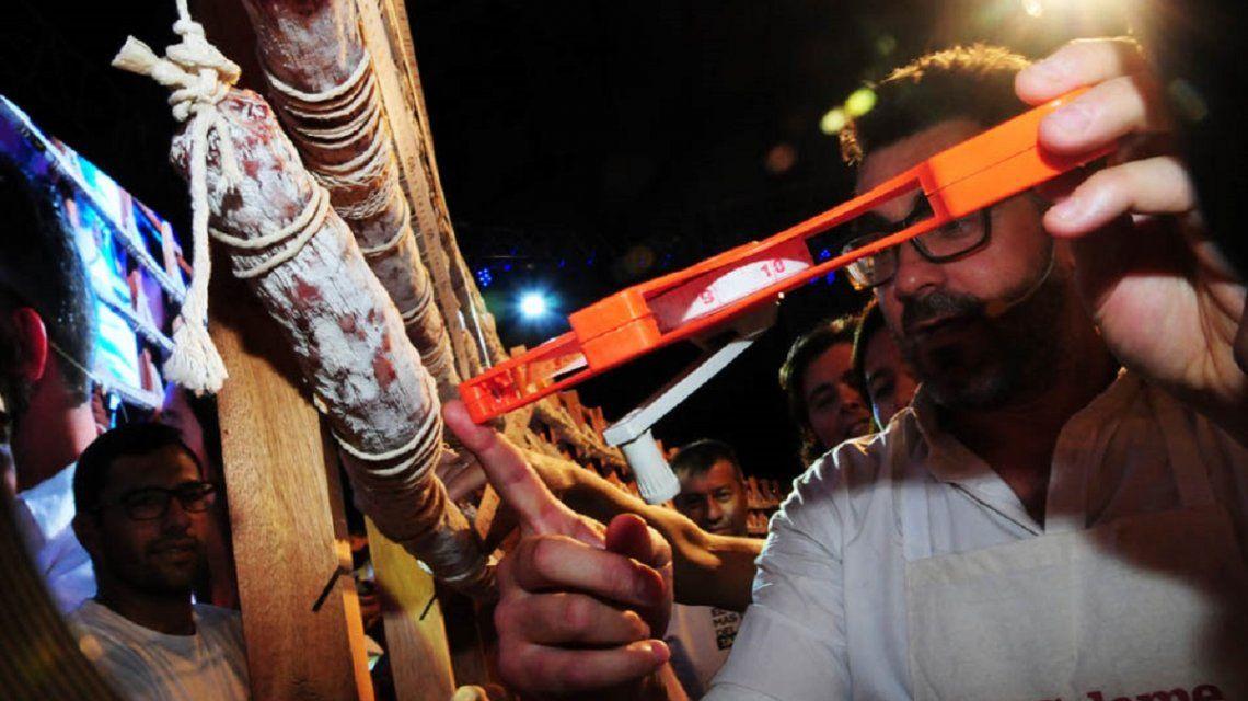 El chef Juan Bracelli midió centímetro a centímetro