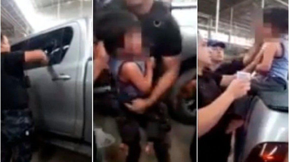Mendoza: dejó a su hijo de 3 años encerrado en una camioneta con 35 grados de térmica y lo rescató la policía