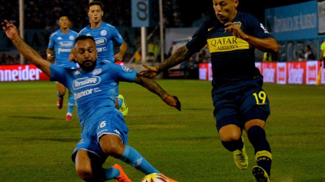 Boca empató con Belgrano y no aprovechó la derrota de Racing