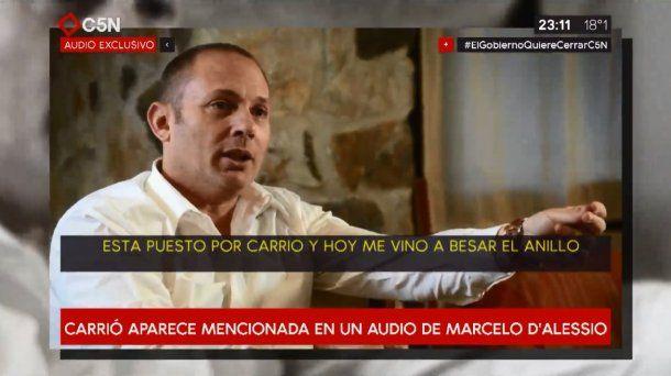 En un supuesto audio de Marcelo D