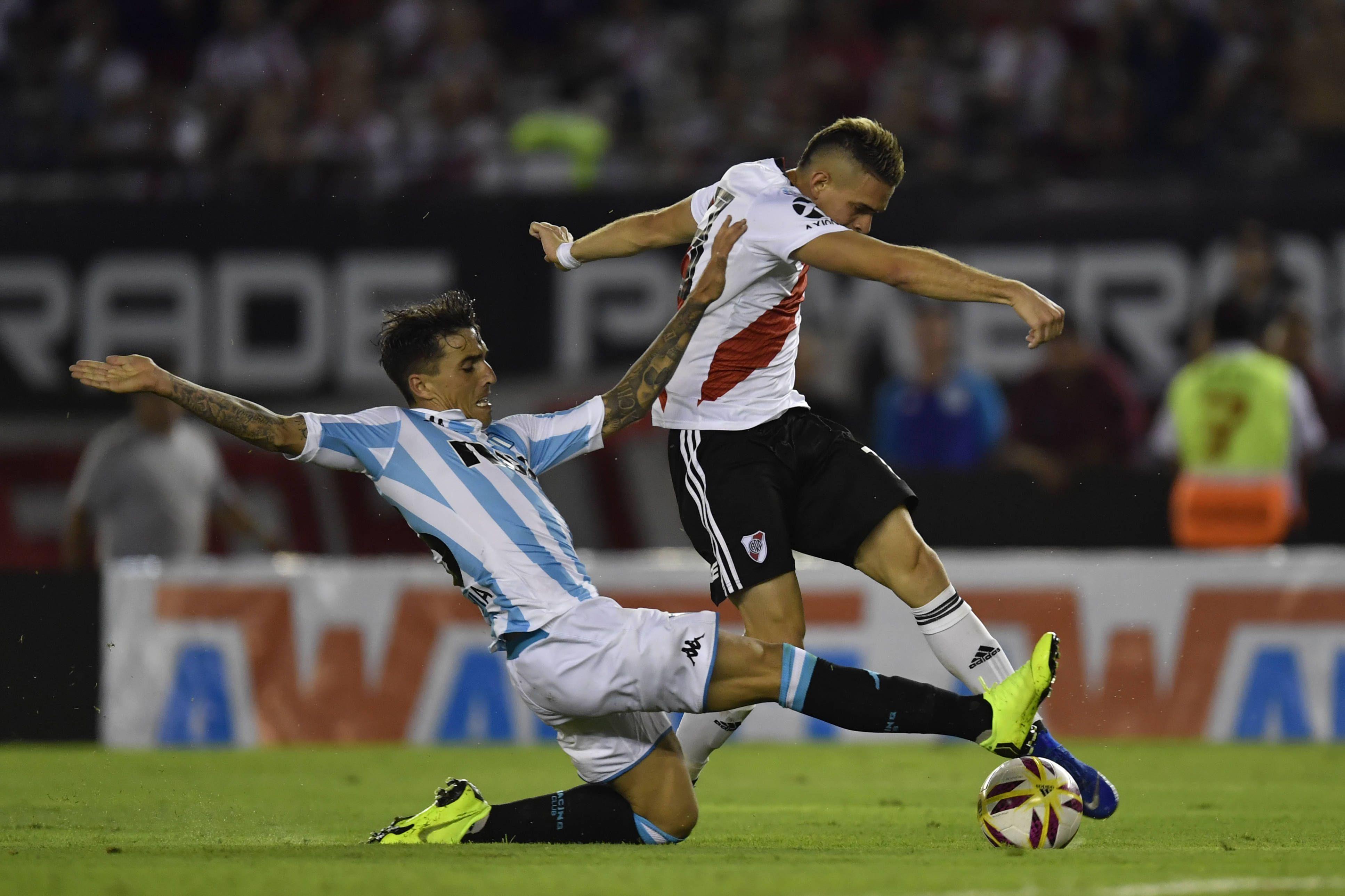 Racing Club vs. River Plate Superliga 2019/20: horario, formaciones y TV