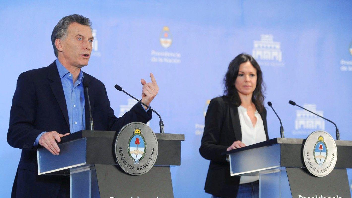Mauricio Macri y Carolina Stanley