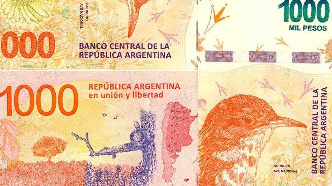 Alertan por la circulación de billetes falsos de $1.000: cómo detectarlos