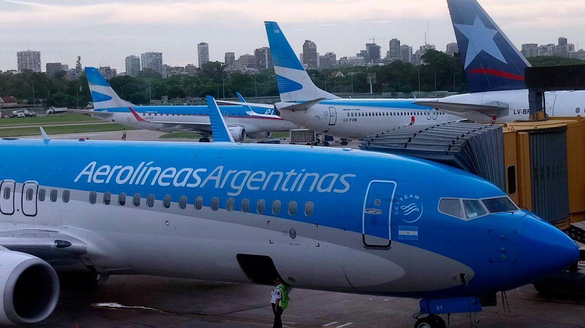 Los sindicatos aeronáuticos declararon el estado de alerta y molvilización