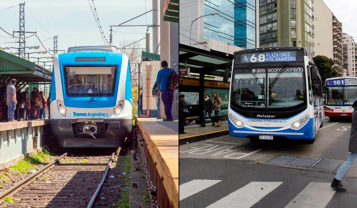 El Gobierno congela el boleto de trenes y colectivos por 180 días