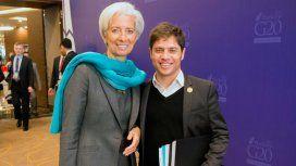 La misión del FMI que visita al país se reunió con Axel Kicillof