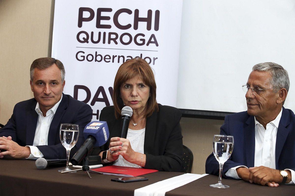 Patricia Bullrich y Pechi Quiroga
