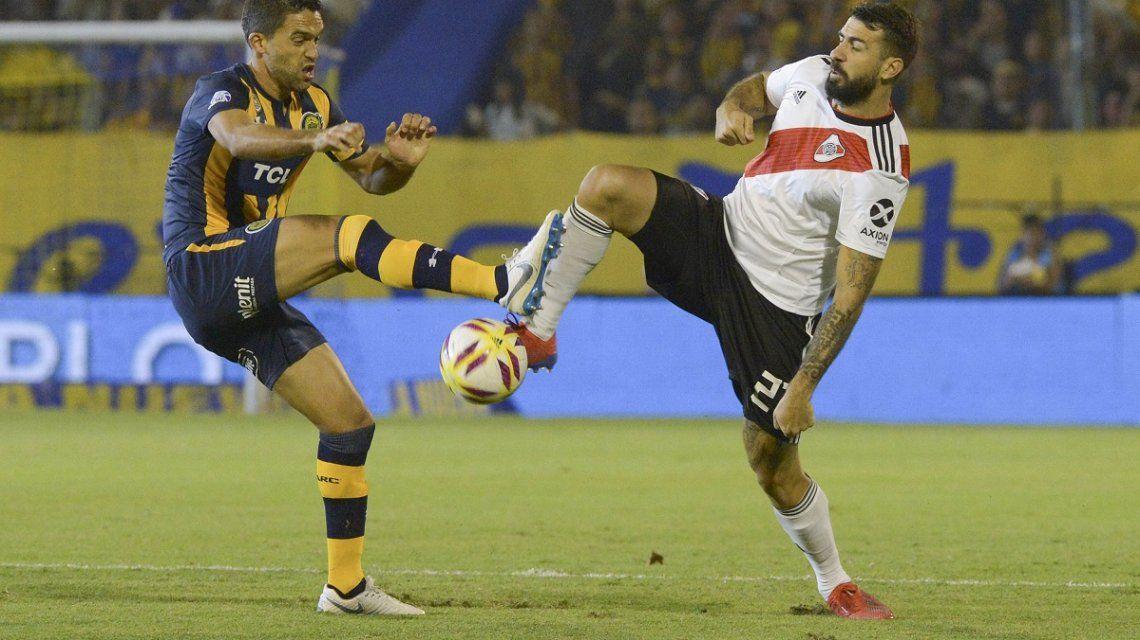 River empató con Central en su visita a Rosario