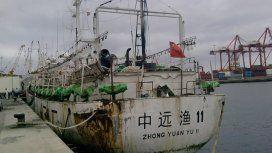 Comodoro Rivadavia: un pesquero chino se hundió tras chocar con un buque español