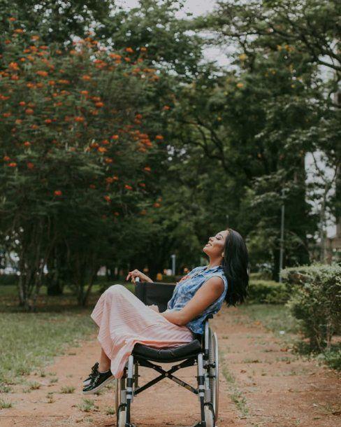 Layane Dias lucha por volver a caminar<br>