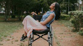 Layane Dias lucha por volver a caminar