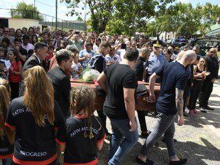 Emiliano Sala fue velado en el club de su pueblo natal