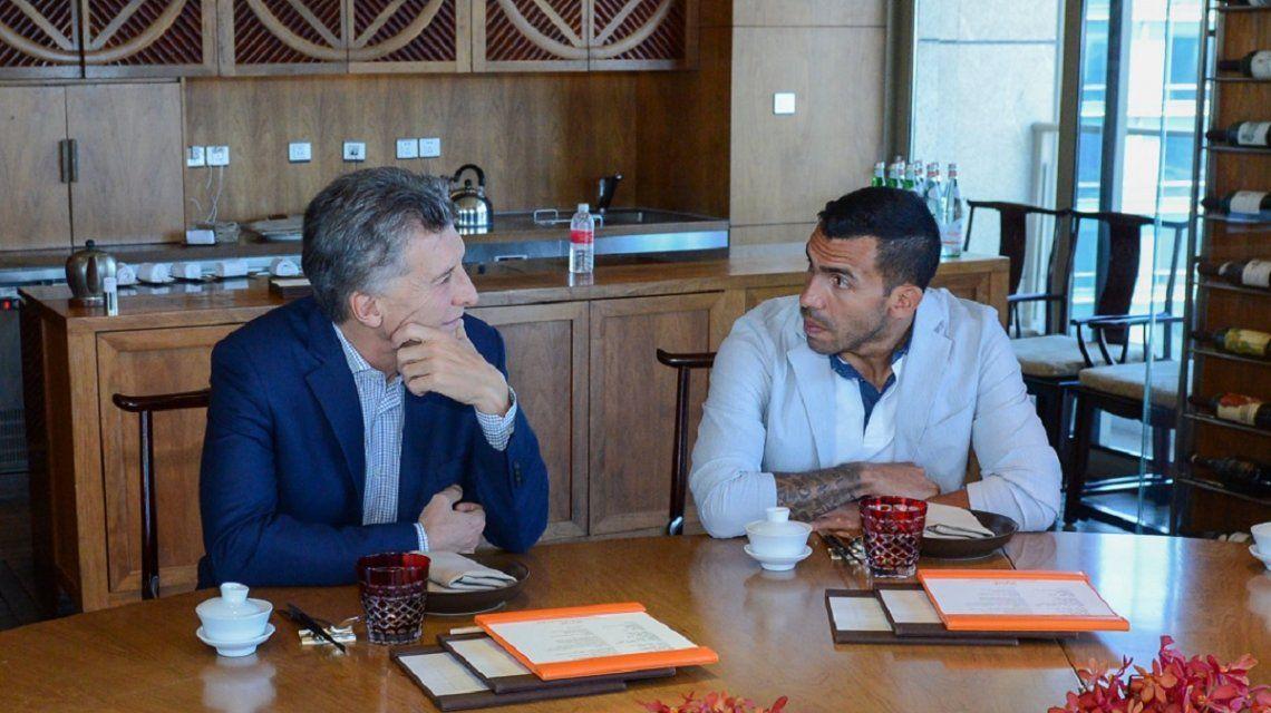 Tevez fue socio de la familia Macri en la compra-venta de parques eólicos