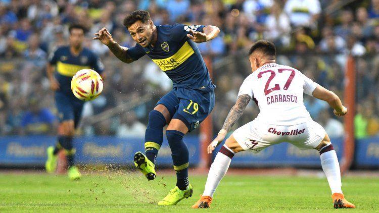 Mauro Zárate marcó el gol de la victoria