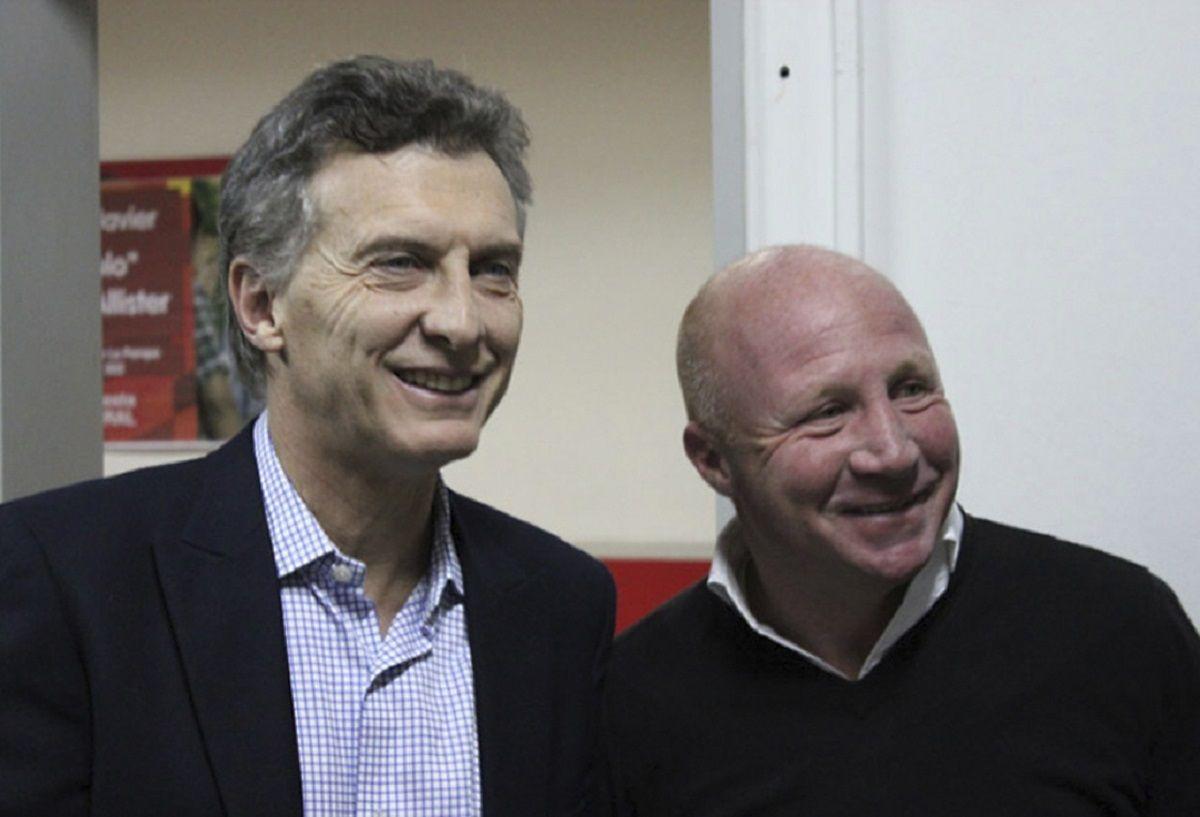 Mauricio Macri y Carlos Mac Allister
