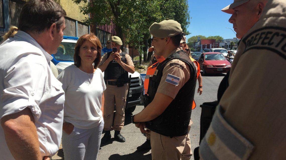 Patricia Bullrich: Las pistolas Taser le mejorarán las condiciones de vida a la gente