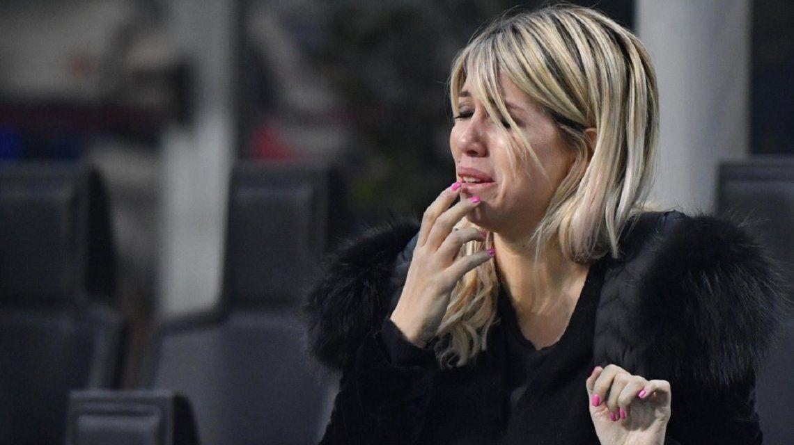 Wanda Nara se largó a llorar en vivo y pidió una mano para Icardi