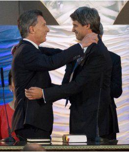 Carlos Melconian, Mauricio Macri y Alfonso de Prat-Gay