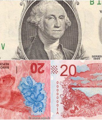 El dólar superó los 40 pesos