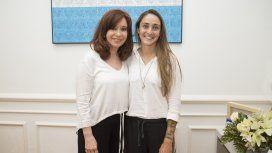 Cristina Kirchner y Macarena Sánchez