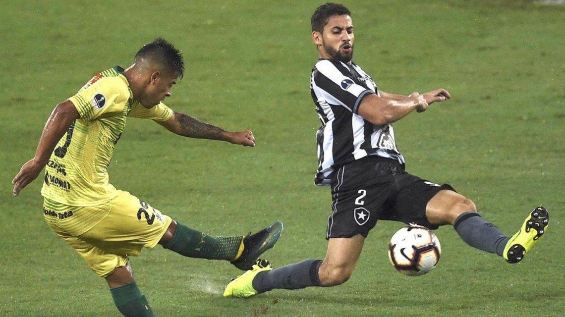 Defensa y Justicia vs Botafogo por Copa Suidamericana: horario, formaciones y TV