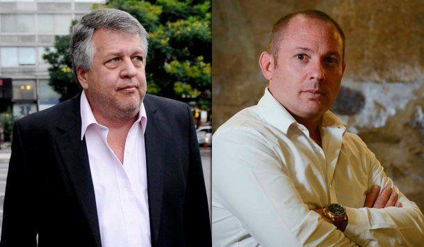 El fiscal Carlos Stornelli y Marcelo D´Alessio,