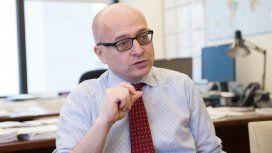 Roberto Cardarelli, jefe de la misión del FMI en Argentina
