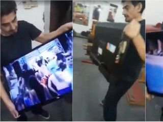 ¿real o fake? el televisor que se enciende sin electricidad y con wifi