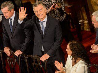 Macri, en la apertura de Sesiones Ordinarias de 2018