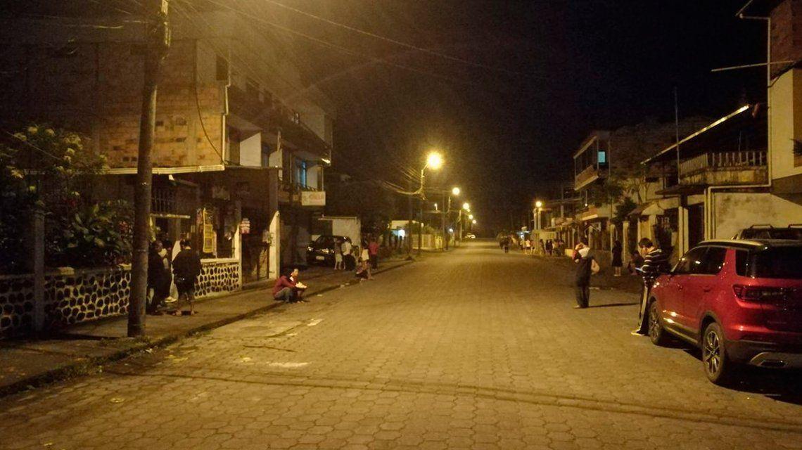 Sismo de 7,7 en Macas, en el sur de Ecuador