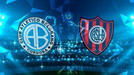Belgrano de Córdoba vs San Lorenzo: horario