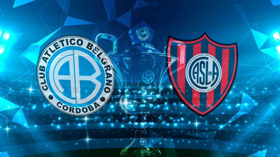 Belgrano de Córdoba vs San Lorenzo: horario, formaciones y TV